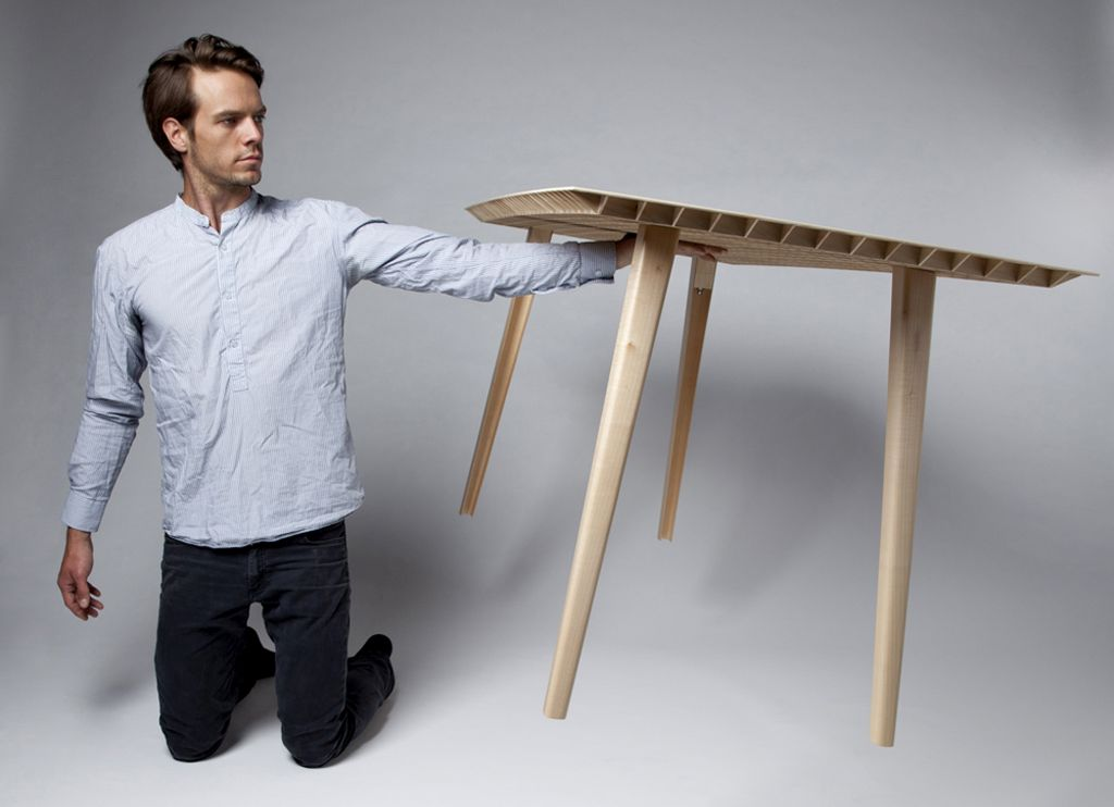 worlds lightest wooden table